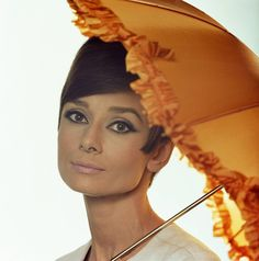 Audrey Hepburn | From a unique collection of color photography at…