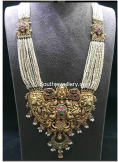 Pearl Haram with Nakshi Pendant photo