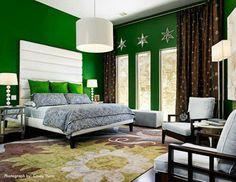 Bedroom Colors Green Walls