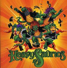 Heavysaurios - Heavysaurios Music Games, Heavy Metal, Bowser, Draw, Halloween, Artist, Painting, Fictional Characters, Leo