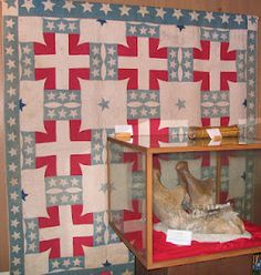 antique confederate quilt - love it.