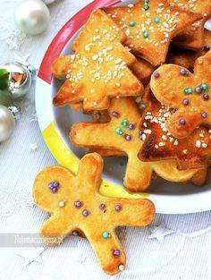 Ciastka maślane Polish Recipes, Polish Food, Gingerbread Cookies, Food And Drink, Cooking, Christmas Ideas, Gingerbread Cupcakes, Kitchen, Polish Food Recipes