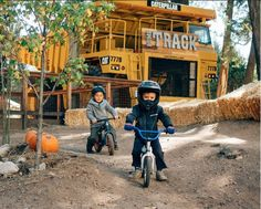 These kid-friendly bike parks and pump tracks are easily road-trip-worthy and will score you major cool-parent points. Check out the list! Bucket List Family, Santa's Village, Lake Arrowhead, Bike Parking, Road Trip, Wheeling, Pumps, Kids, Track