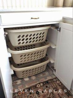 Creative Laundry Room Organization February 17, 2015 By Emily 11 Comments Creative Laundry Room Organization by delia