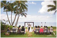 A Maui Wedding at the Sugar Beach Hale in Kihei :: Hawaii Wedding by Simple Maui Wedding