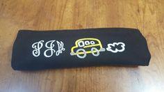 School  bus seat belt covers