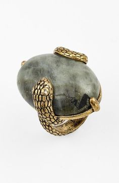 Berry 'Snake' Quartz Ring available at #Nordstrom
