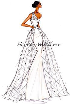 Hayden Williams Bridal Couture collection pt3