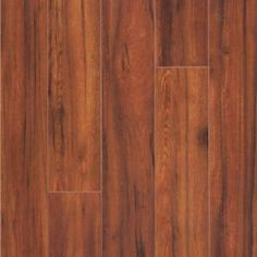 Hampton Bay Maraba Hickory 8 mm Thick x 5 in. Wide x 47-5/8 in. Length Laminate Flooring (16.28 sq. ft. / case)-367471-00192 at The Home Depot