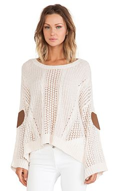 """Wildfox Couture """"Covered In Lace"""" Lost Sweater"""