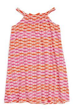 Hatley 'Tropical Fish' Shirred Cover-Up Dress (Toddler Girls, Little Girls & Big Girls) Toddler Girl Dresses, Toddler Girls, Swim Cover, Cover Up, Shirred Dress, Fish Print, Summer Essentials, Tropical Fish, Summer 2016
