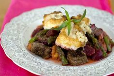 Rocco DiSpirito's Valentine's Day surf and turf cobbler for 2