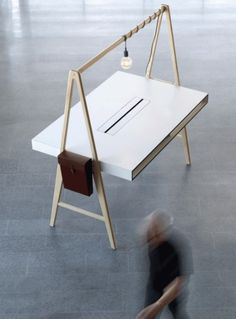La firma sueca Tengbom ha desarrollado una línea de mobiliario de oficina que lleva por nombre A-Series. Con el auge de los espacios de coworking estas mes