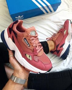 New 2018 adidas Falcon Shoes - Pink. The Falcon takes inspiration from  90s  running 139ae85ce