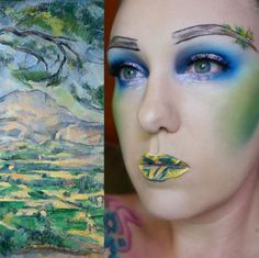 As inspiration strikes, Lazear plans on recreating more paintings through makeup.