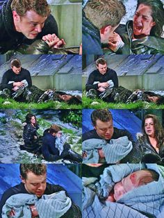 General Hospital's (Billy Miller As Jason Morgan And (Kelly Monaco) Sam Morgan. You will See Very Powerful Performance Out Of Them.