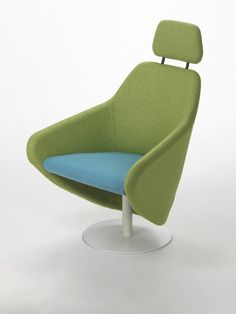 Swivel armchair with armrests TAXIDO by Segis