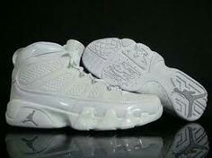 e8f8377e87ef4e Jordan Shoes Air Jordan 9 Retro White Metallic Silver  Air Jordan 9 - Clean  and clear Air Jordan 9 Retro White Metallic Silver kicks with the high  quality ...