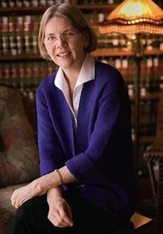 Elizabeth Warren. Future senator and consumer financial protection warrior.