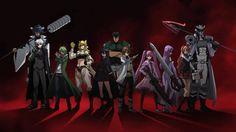 Akame ga kill x night raid