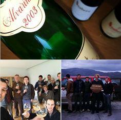 Visita técnica ... 5 futuros enólogos de Bordéus, um grande enólogo do Douro e dois apaixonados do vinhos... bem vistas as coisas wine lovers eramos todos...making new friends...
