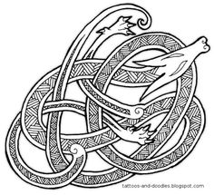 anglo saxon tattoos for men - Google Search