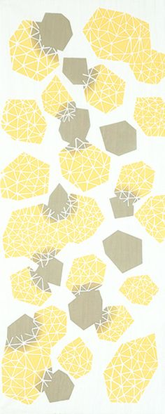 Japanese Tenugui Towel Cotton Fabric, Diamond losange, multicolor ...