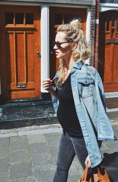 Style...Anouk Yve | Creators of Desire // maternity casual denim style