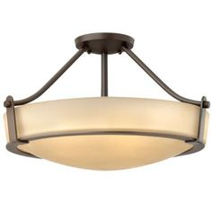 Hathaway Semi-Flushmount by Hinkley Lighting - great brand - great look - $219 - the small size would be good.