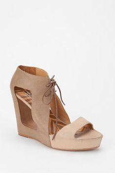 Matiko Paris Lace-Up Wedge Sandal  #UrbanOutfitters