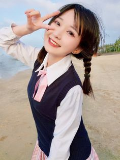 Nữ coser được truy lùng khi hóa thân thành thánh biểu cảm cực dễ thương - Ảnh 3. Asian Cute, Cute Asian Girls, Beautiful Asian Girls, Cute Girls, Cool Girl, Japanese Model, Cute Japanese, Japanese School, Cute Cosplay