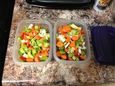 Gotta mealprep before work!  #mealprep #eatclean #slambooyfitness