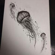 jellyfish tattoo watercolor - Google Search