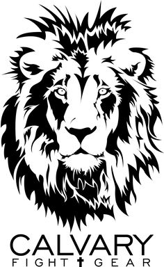 Calvary Lion And Word Logo