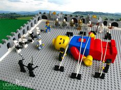 Gulliver's Travels in #Lego