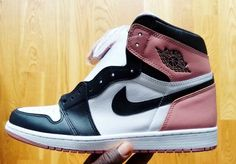 Nigel Sylvester Shows Off New Pink And Black Air Jordan 1 High Colorway