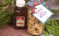 Microwave Honey Peanut Brittle made with Sue Bee Honey