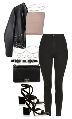 """""""Untitled #3851"""" by theeuropeancloset on Polyvore featuring Calvin Klein Collection, Topshop, Gianvito Rossi, 3.1 Phillip Lim, Chanel and Forever 21"""