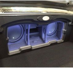 70 chevelle #becauseSS car audio custom install grey jl audio subs amps trunk