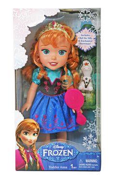 Super cute! #Frozen Princess Anna Doll