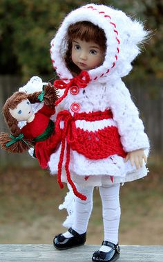 """WINTER CHRISTMAS FOR LITTLE DARLING 13"""" 