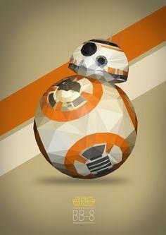BB-8 Low Poly by Juan Carlo Bien Janairo