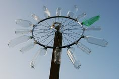 Plastic bottles turned into a wind-turbine!