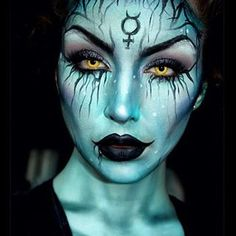 creepy fairy make up for halloween - Google Search