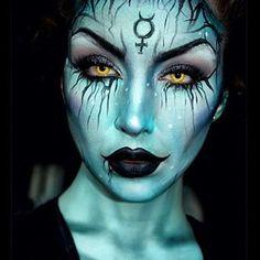 creepy fairy make up for halloween - Google Search