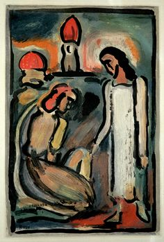 Georges Rouault (French, 1871-1958): Original Mixed-Media Intaglios from The Passion and Les Fleurs de Mal
