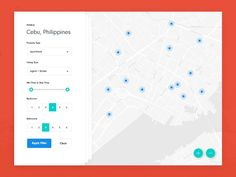 Daily UI #029 - Map