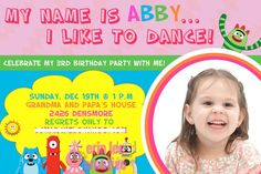 I've always said I won't do a licensed-theme birthday party, but Yo Gabba Gabba is really tempting.
