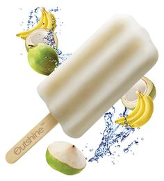 Dryer's Outshine Coconut Waters made with real fruit and only 60 calories per bar!