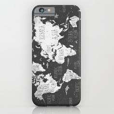 The World Map B/W - $35